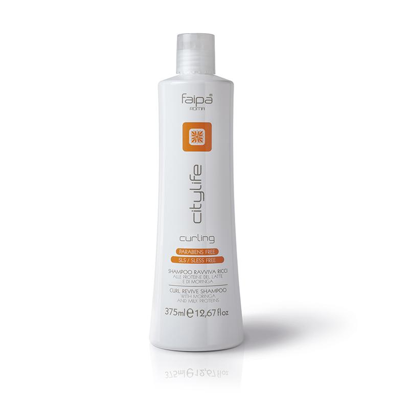 City Life Curling Shampoo 375 ML