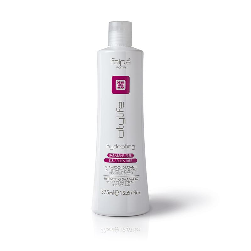City Life Hydrating Shampoo 375 ML