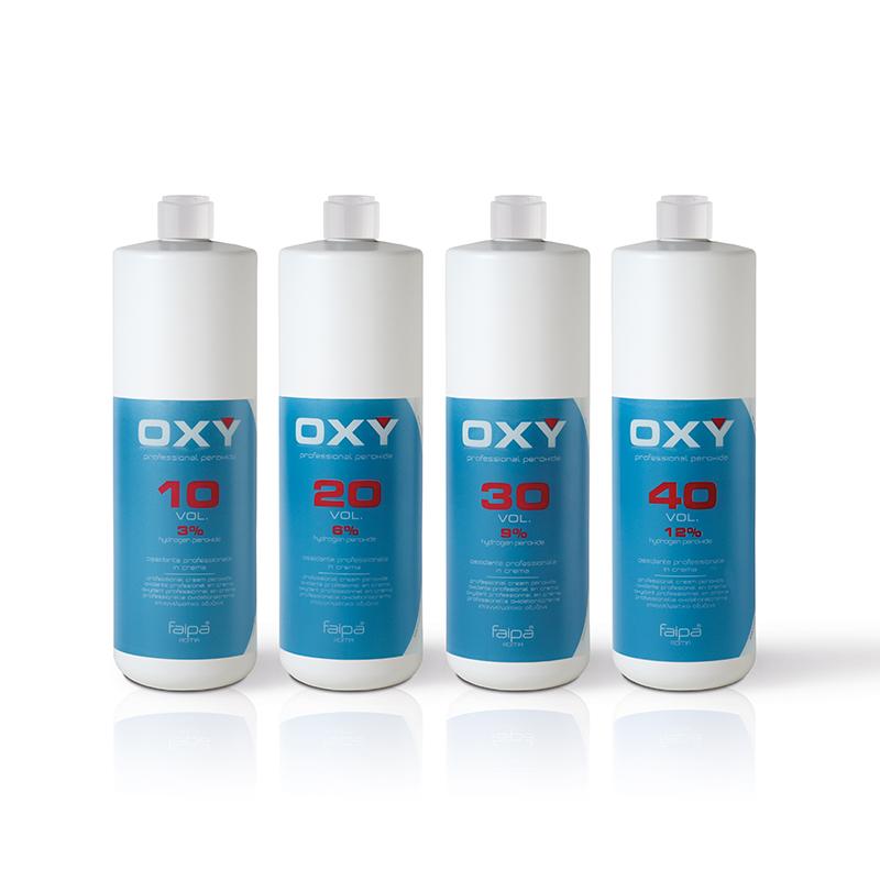 Oxy Ossidante Professionale In Crema Three