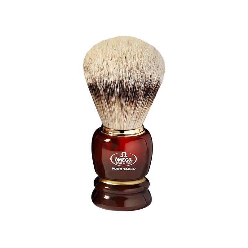 Pennello Da Barba Omega 636 In Tasso Silvertip