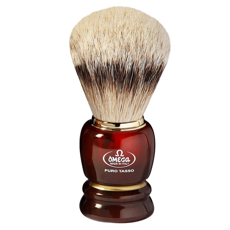 Pennello Da Barba Omega 639 In Tasso Silvertip