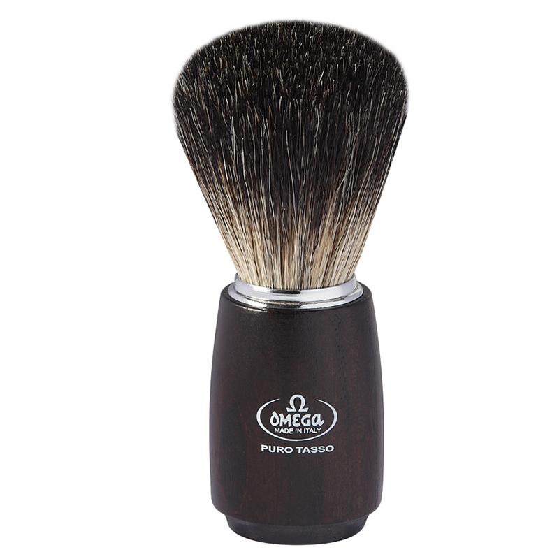 Pennello Da Barba Omega 6712 In Tasso Nero