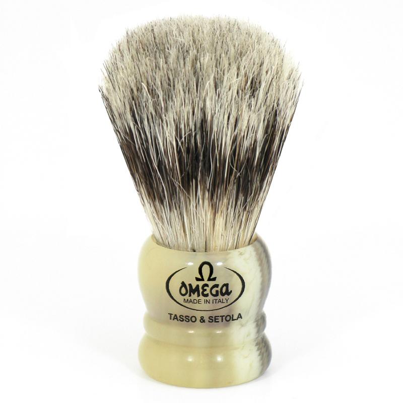 Pennello Da Barba Omega 11047 In Misto Setola/Tasso