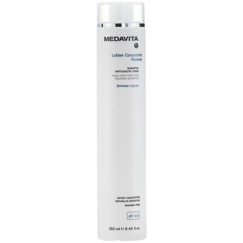 Medavita Lotion Concentrée Shampoo Anticaduta Uomo pH 4.8 200ml