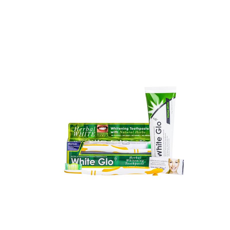 White Glo Herbal White