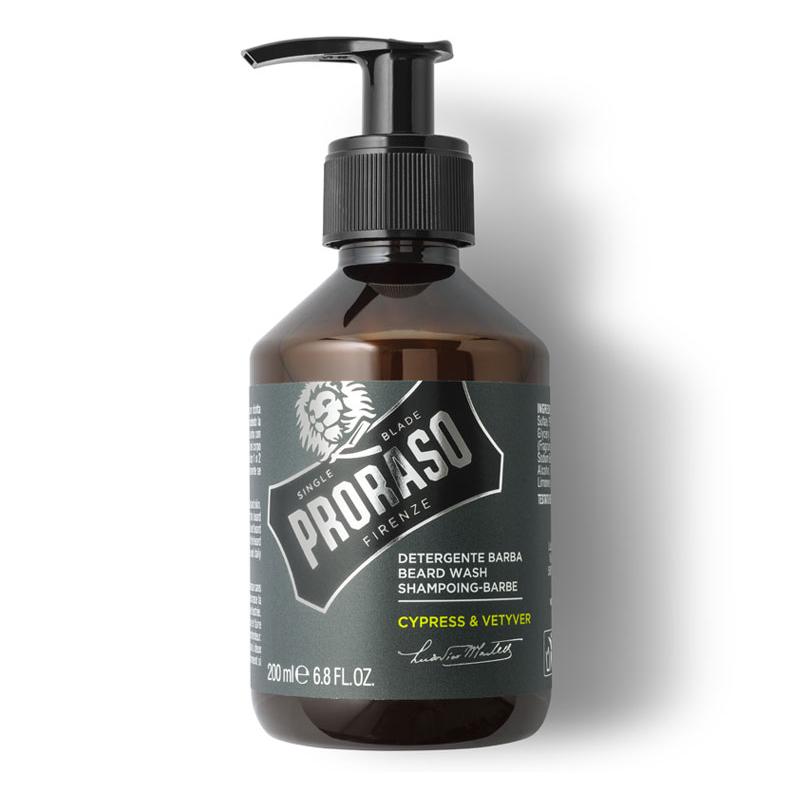 Proraso Cypress & Vetyver Detergente Cura Barba 200ml