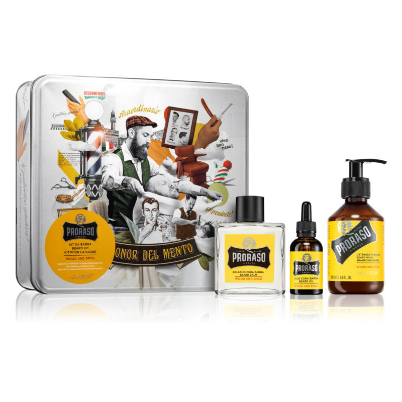 Proraso Kit Da Barba Wood And Spice