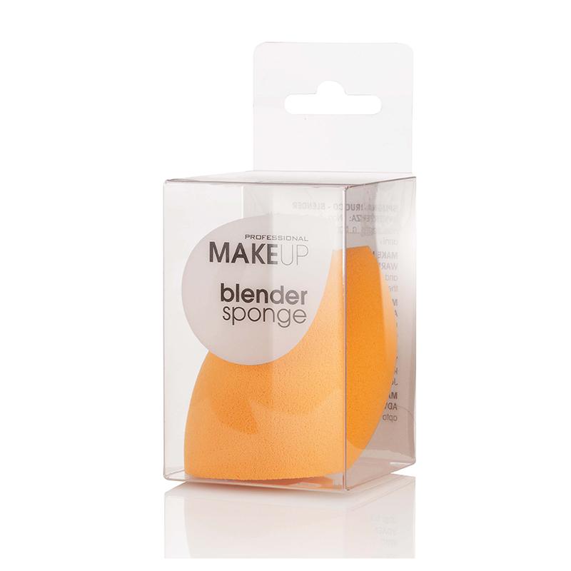 Spugna Trucco 3D In Lattice Arancione