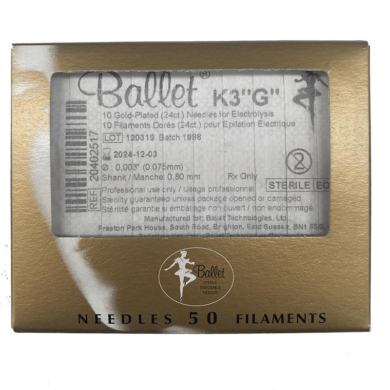 Ago Ballet Elettro Epilazione K3 Oro